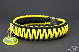 "Paracord Survival Halsband, Thunder ""Double"""
