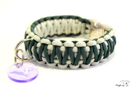 "Paracord Survival Halsband, Kairo ""Double"""