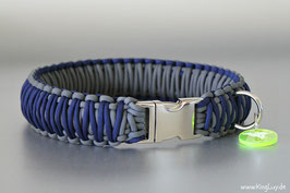 "Paracord Survival Halsband, Navy ""Triple"""