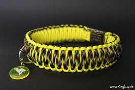 "Paracord Survival Halsband, Galaxy Cross ""Triple"""
