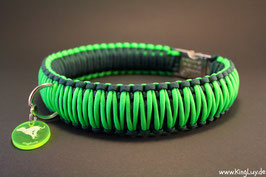 "Paracord Survival Halsband, Grasshopper ""Triple"""