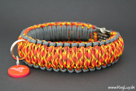 "Paracord Survival Halsband, Fire Ball ""Triple"""