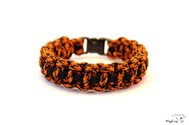 "Paracord Survival Armband, Leopard II ""Single"""