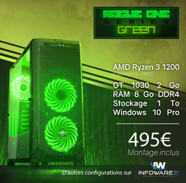 Spirit of Gamer - Rogue One Green