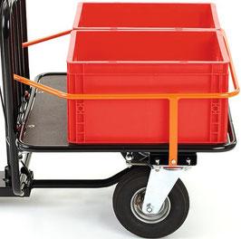 Reling inkl. Kunststoffboxen (400x300x220mm)