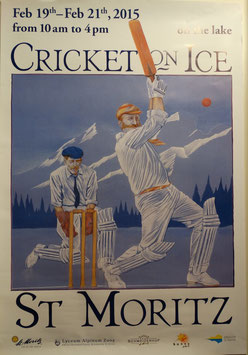 Cricket on Ice poster