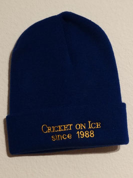 Cricket on Ice woolly hat