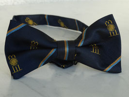Silk read made St Moritz Cricket Club bow tie