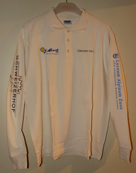 Cricket on Ice long sleeved cream cricket shirt
