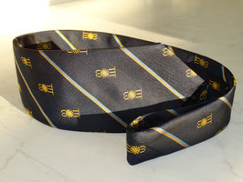 Silk Crested St Moritz Cricket Club Tie
