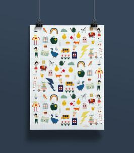 NEU Geschenkpapier LID| 50 x 70 cm