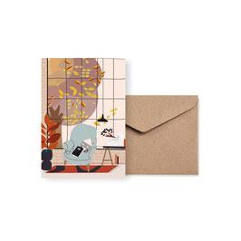 Herbst  | Klappkarte: DIN A6 + Umschlag