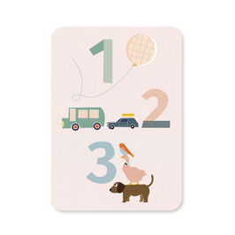 Postkarte | 1,2,3 DIN A6
