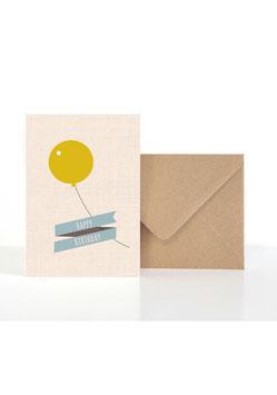 Happy Birthday | Klappkarte: DIN A6 + Umschlag