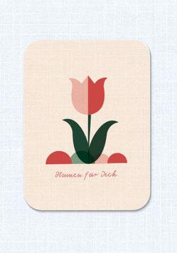 Postkarte | Blumen für Dich