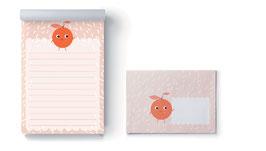 Briefpapier-Set Orange
