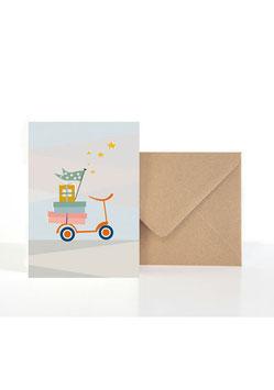Für viele Anlässe und Gelegenheiten | Klappkarte: DIN A6 + Umschlag