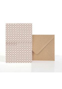 Kacheln | Klappkarte: DIN A6 + Umschlag