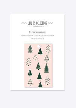 Geschenkanhänger:  Oh Tannenbaum | 8er Set
