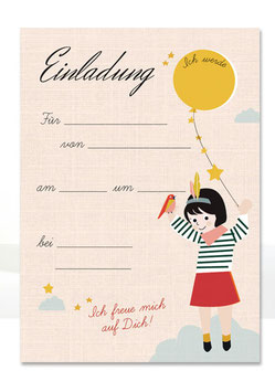 Geburtstagseinladung Indianer | 6 x DIN A6 Karten + 6 Umschläge