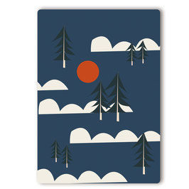 Tanne Postkarte