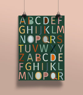 NEU Geschenkpapier ABC | 50 x 70 cm
