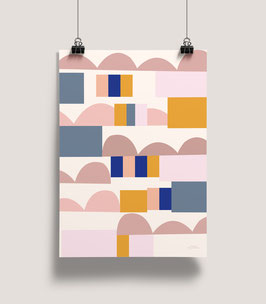 Geschenkpapier Abstrakt | 50 x 70 cm