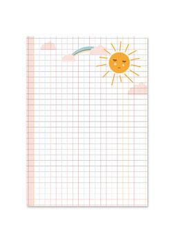 Schreibblock | Sonne