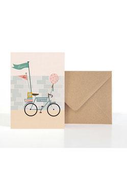Für das Brautpaar | Klappkarte: DIN A6 + Umschlag