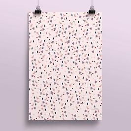 Geschenkpapier Terrazzo| 50 x 70 cm
