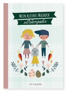 """Malbuch """"Osterspaß"""""""