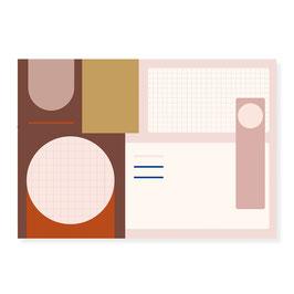 Schreibtischunterlage | Abstrakt