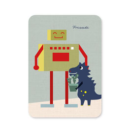 Postkarte | Freunde DIN A6