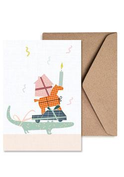 Geschenke | Klappkarte: DIN A6 + Umschlag