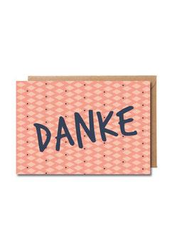 Danke! | Klappkarte: DIN A7 + Umschlag