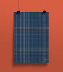 Geschenkpapier Squares | 50 x 70 cm