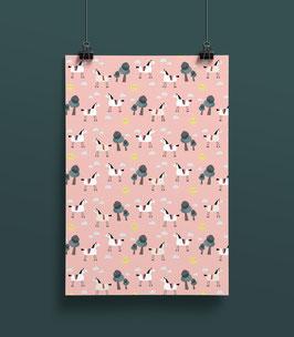 Geschenkpapier Pferde | 50 x 70 cm
