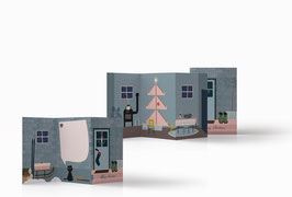Das Mini-Buch für Weihnachten (Haus)