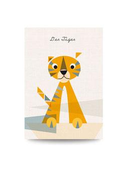 Für alle Tiger | Druck: DIN A3