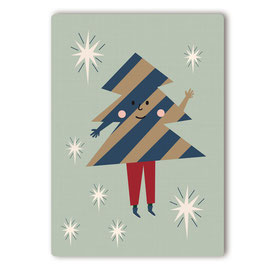Herr Bäumchen Postkarte
