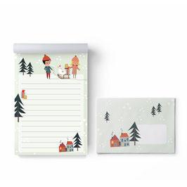 Briefpapier-Set, Weihnachten