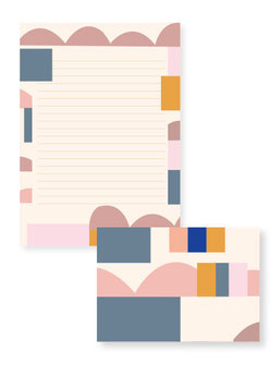 Briefpapier-Set, Abstract