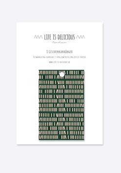 Geschenkanhänger:  Wald | 8er Set