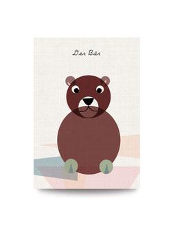 Bärenbegleiter | Druck: DIN A3