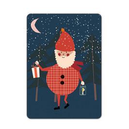 Nikolaus Postkarte