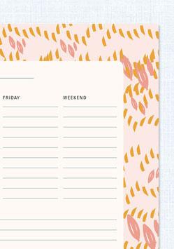 Wochenplaner | Wiese
