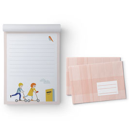 Briefpapier-Set Motiv Kinder