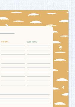 Wochenplaner | Wolke