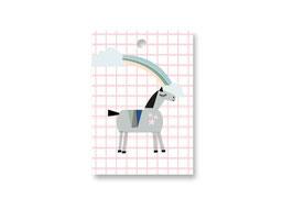 Anhänger Motiv »Pferd«| Birkenfunier mit Verschluß