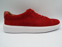 CLARKS CAMBRO LOW SUEDE RED